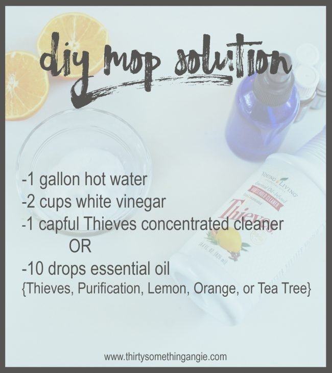 DIY Cleaning Recipe: Mop Solution