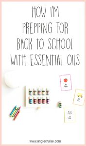 We are one month out from the first day of school! Part of my prep includes stocking up on essential oils. We use a lot during the back to school season!