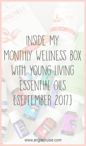 Take a peak inside my monthly wellness box with Young Living's Essential Rewards program!
