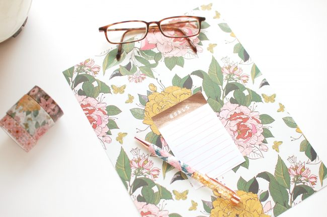 Goal Setting, To-Do List, Washi, Planner Girl