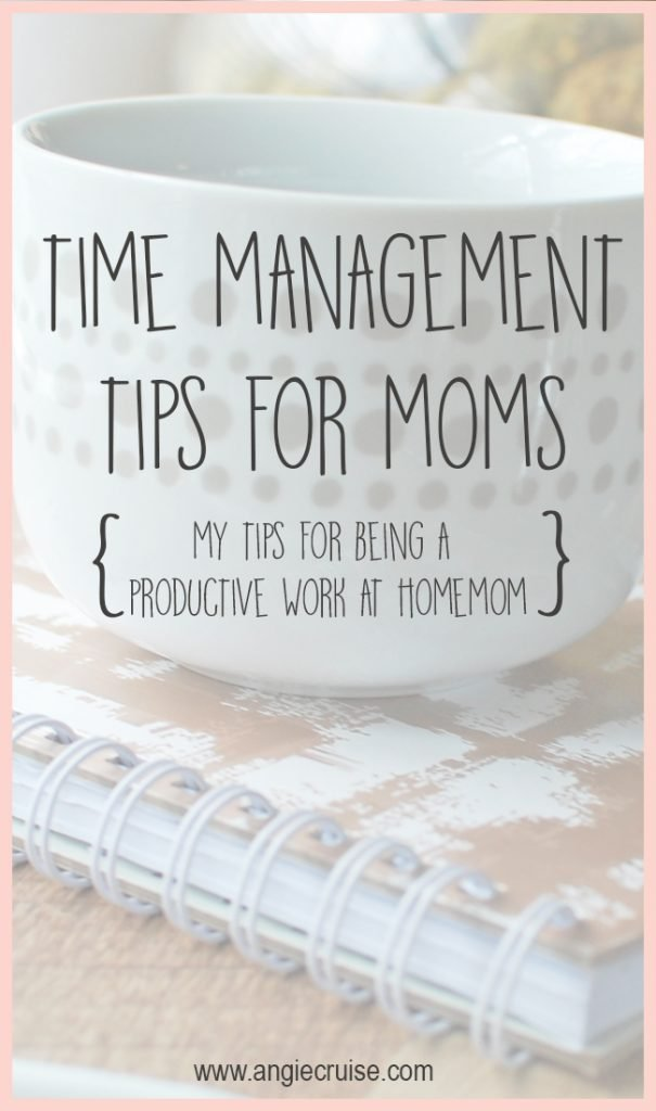 Over the years, I have learned a few time management tips that have helped me become more productive at home. I want to share so you can get more done.