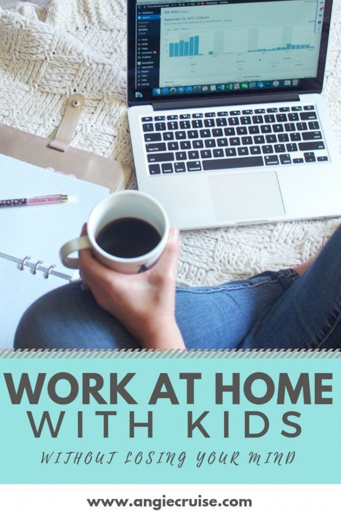 Do you need tips on working from home with no childcare? I've been doing just that for over 10 years and pulled my best advice to share here.
