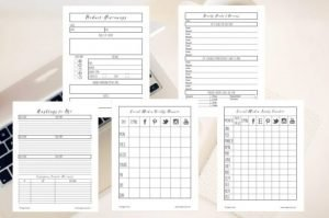 Small Business Organizational System - Social Media Planners