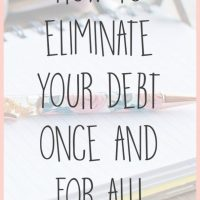 How My Household Budget Eliminated Our Debt