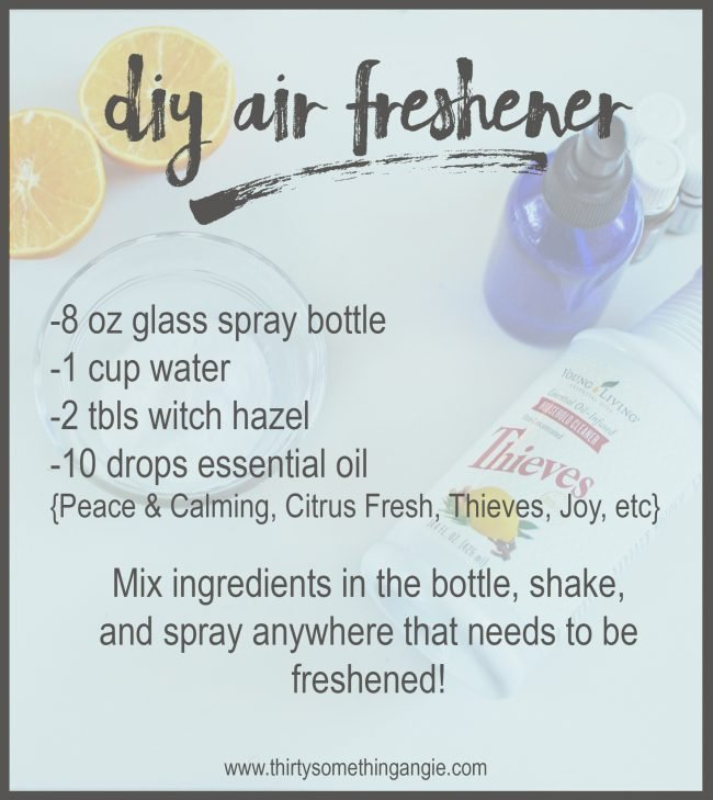 DIY Cleaning Recipe: Air Freshener