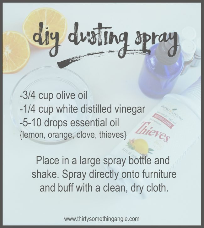DIY Cleaning Recipe: Dusting Spray