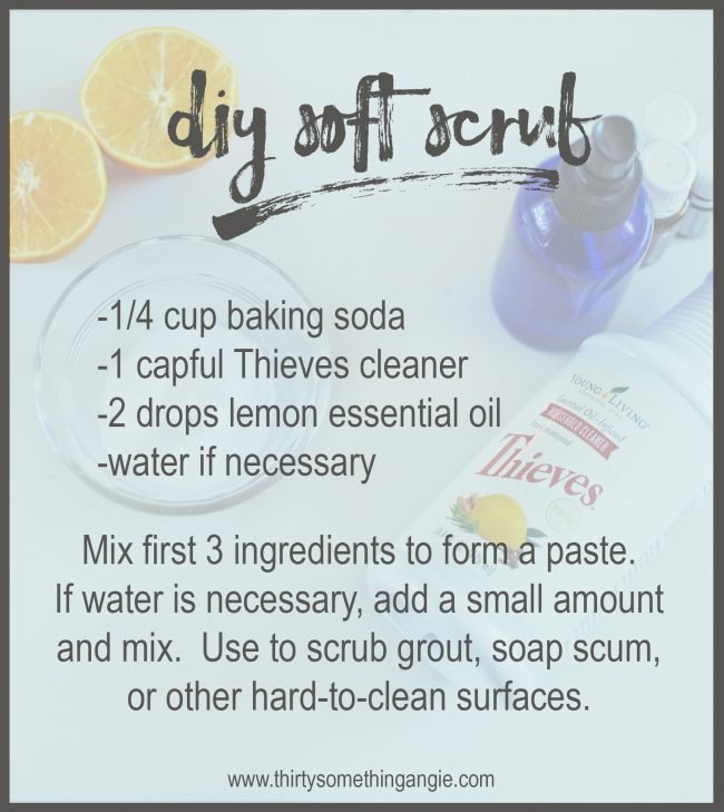 DIY Cleaning Recipe: Soft Scrub