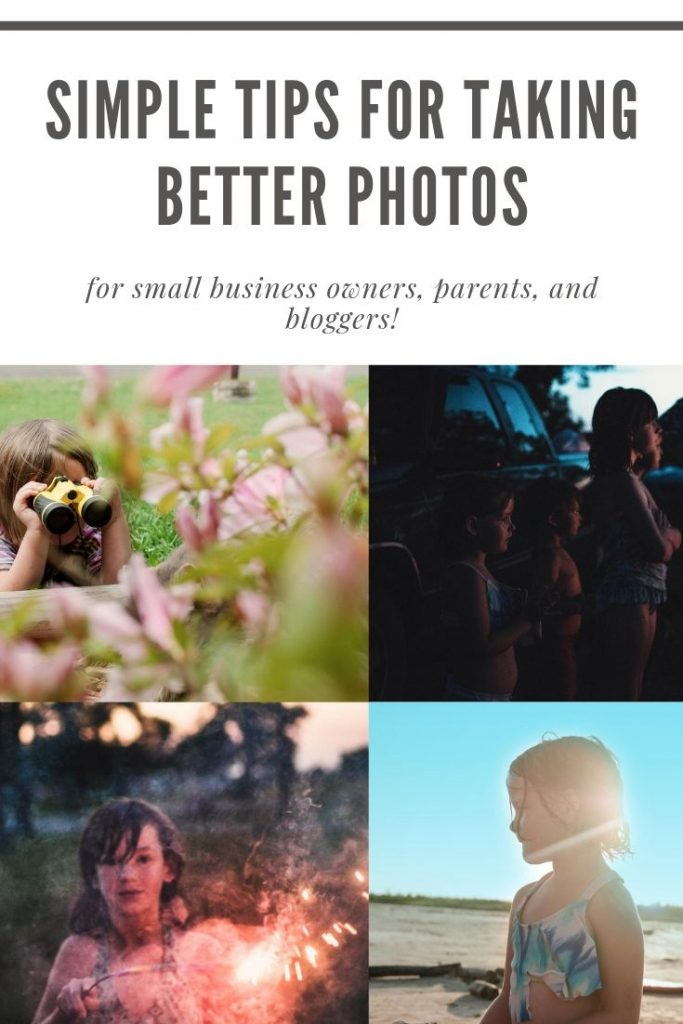 simple tips for taking better pictures