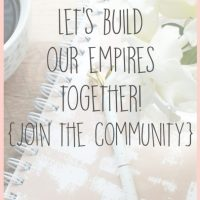 Let's Build Our Empires Together