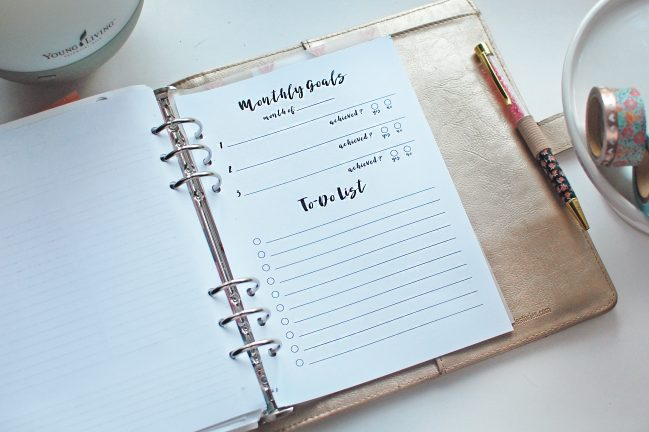 View my simple monthly planning process that helps me organize my life.