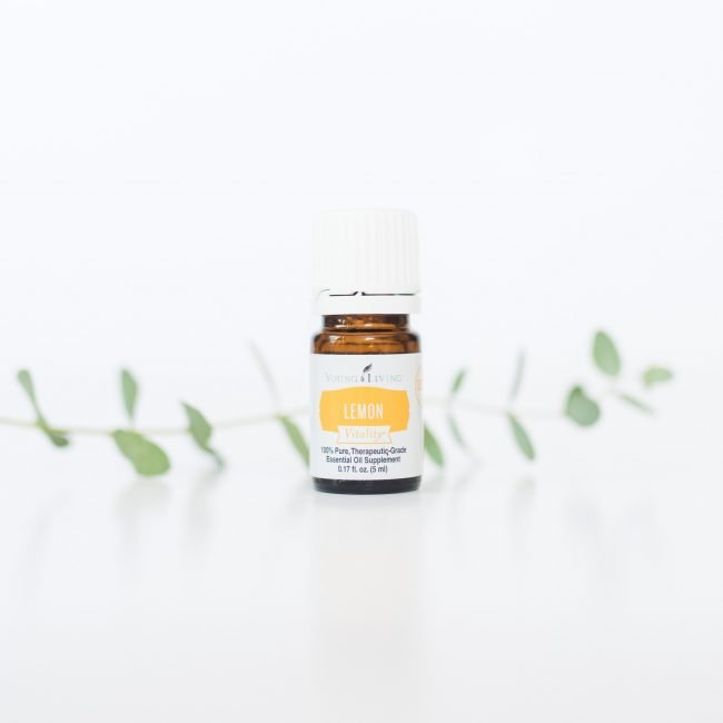 Lemon is one of my favorite essential oils for overall wellness!