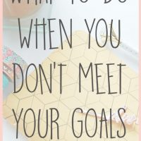 What To Do When You Don't Meet Your Goals: May Blog Traffic and Income Report