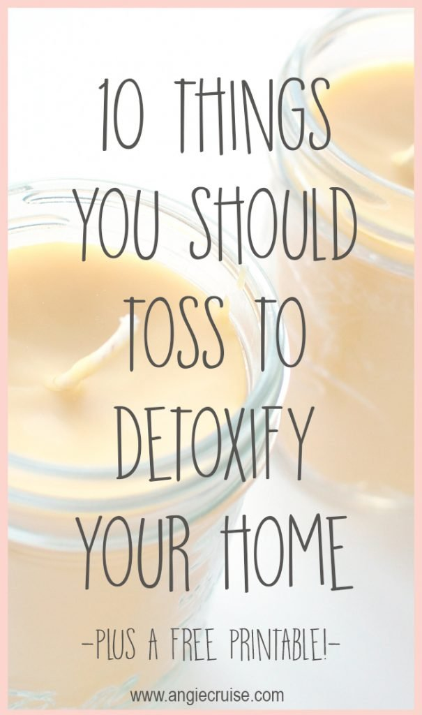 If you are beginning your journey to detoxify your house, don't be overwhelmed! This list of products to avoide simplifies the matter!