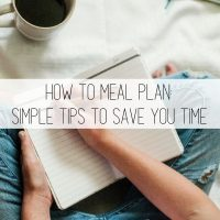 Meal Planning: The Struggle is Real!