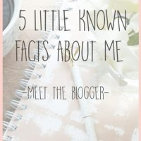 5 Little Known Facts About Me