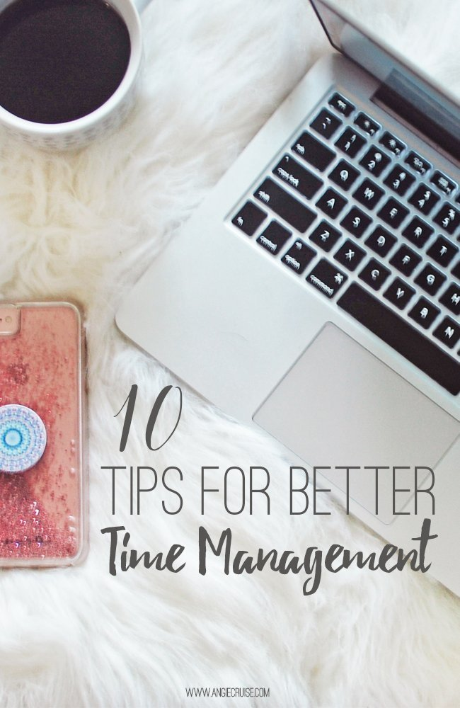 We're all looking for ways to get more done every day, but the secret isn't to find more time. Instead, find ways to manage your time better. Today, I'm sharing 10 tips for better time management that can help anyone get more done. #timemanagementtips #productivity