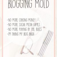 Breaking the Blogging Mold