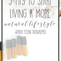 5 Tips to Start Living a More Natural Lifestyle