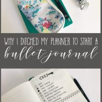 I Ditched my Planner to Start a Bullet Journal