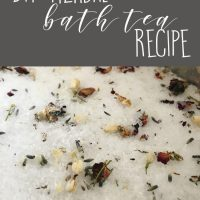 DIY Herbal Bath Tea