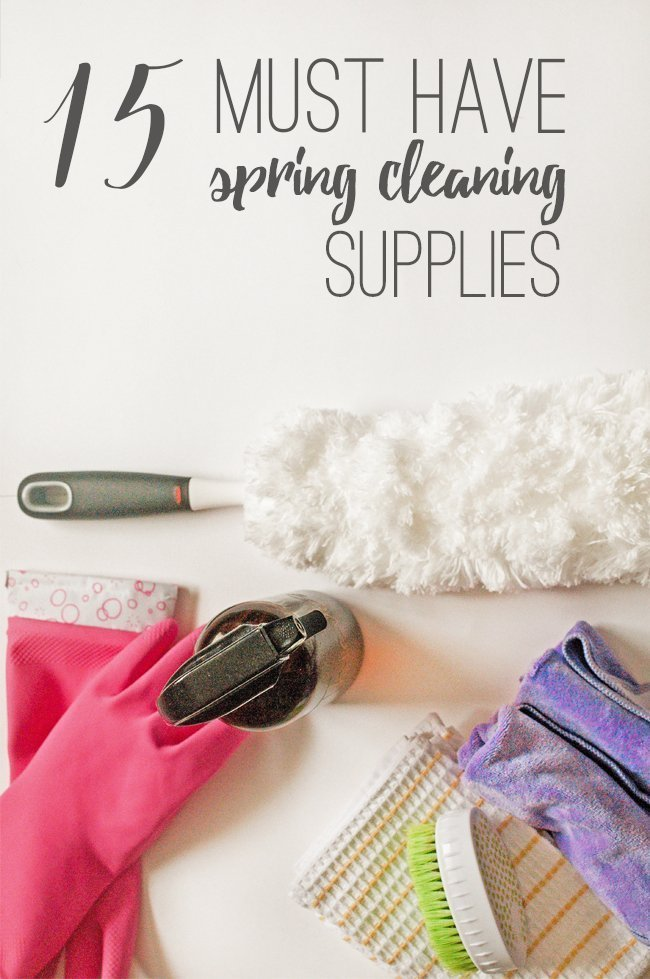 Looking for some all natural spring cleaning supplies this year? I'm rounding up all of my favorites so you can clean your whole house without a single worry! #springcleaning #cleaningsupplies #greencleaning