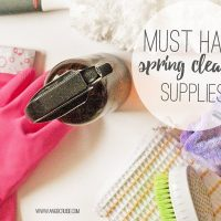 Must Have Spring Cleaning Supplies for the Natural Home