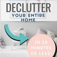 20 Things to Declutter in 20 Minutes or Less
