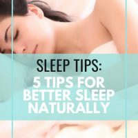 Sleep Tips: 5 Steps for a Restful Night's Sleep