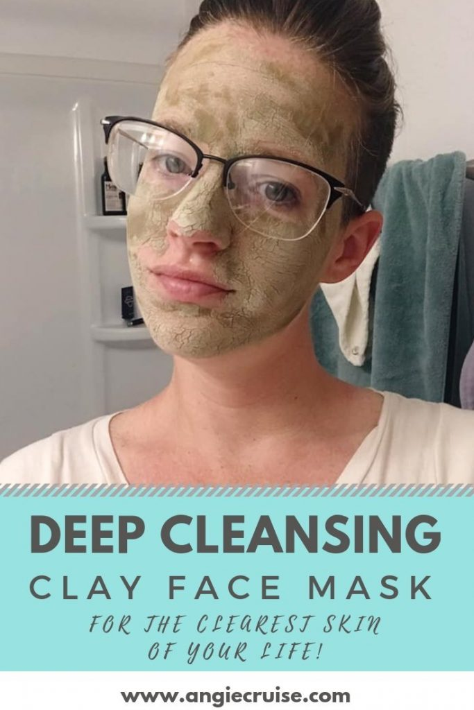 Deep Cleansing Clay Face Mask [Graphic]