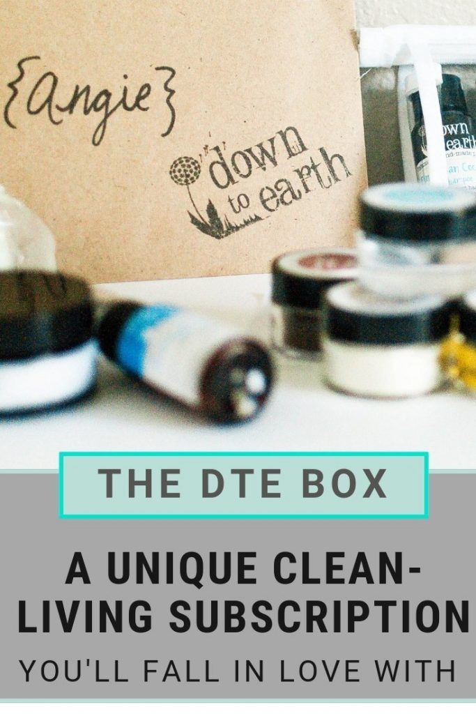 Down to Earth Subscription Box for Clean Living