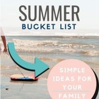 Our Relaxed Summer Bucket List