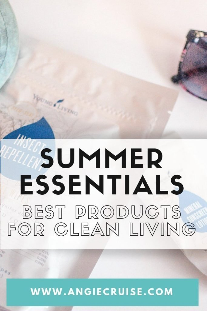 Summer Essentials: Best Products for Clean Living
