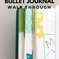 Minimalist Bullet Journal Setup: Walk Through My Journal!