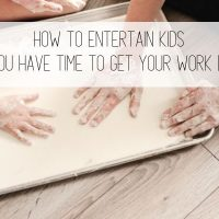 How to Entertain Kids While You Work from Home