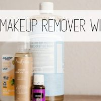 DIY Makeup Remover Wipes Recipe