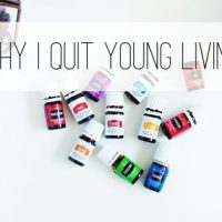 Why I Quit Young Living Essential Oils