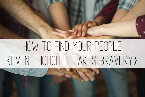 how to find your people