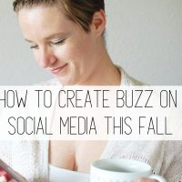 How to Create Buzz on Social Media This Fall