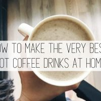 The Best Hot Coffee Drink Recipes to Make at Home