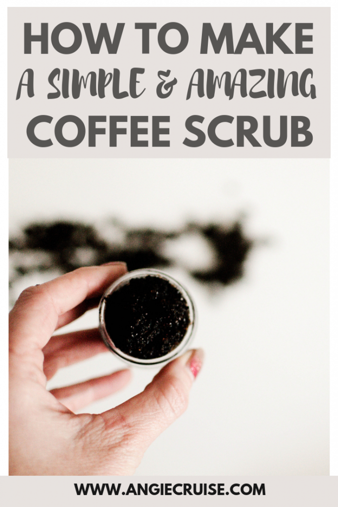 how to make a simple and amazing coffee scrub
