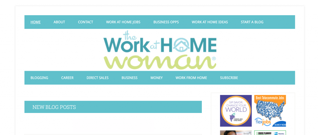 the work at home woman blog