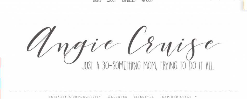 Angie cruise Blog Page