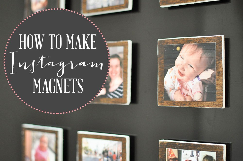 DIY Magnet Tutorial Christmas Gift Idea