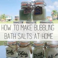 DIY Fizzy Bath Salts Recipe to Make at Home