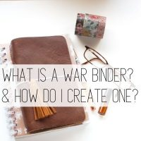 What is a War Binder? & How Do I Get Started?