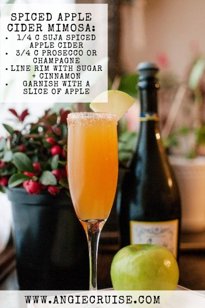 spiced apple cider mimosa recipe