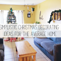 Simplistic Christmas Decorating: My 2019 Christmas Decorations