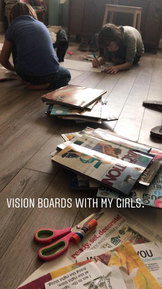 how to make a vision board-supplies