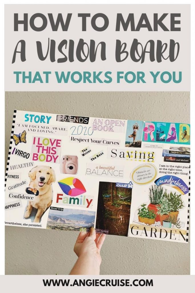 how to make a vision board that works for you