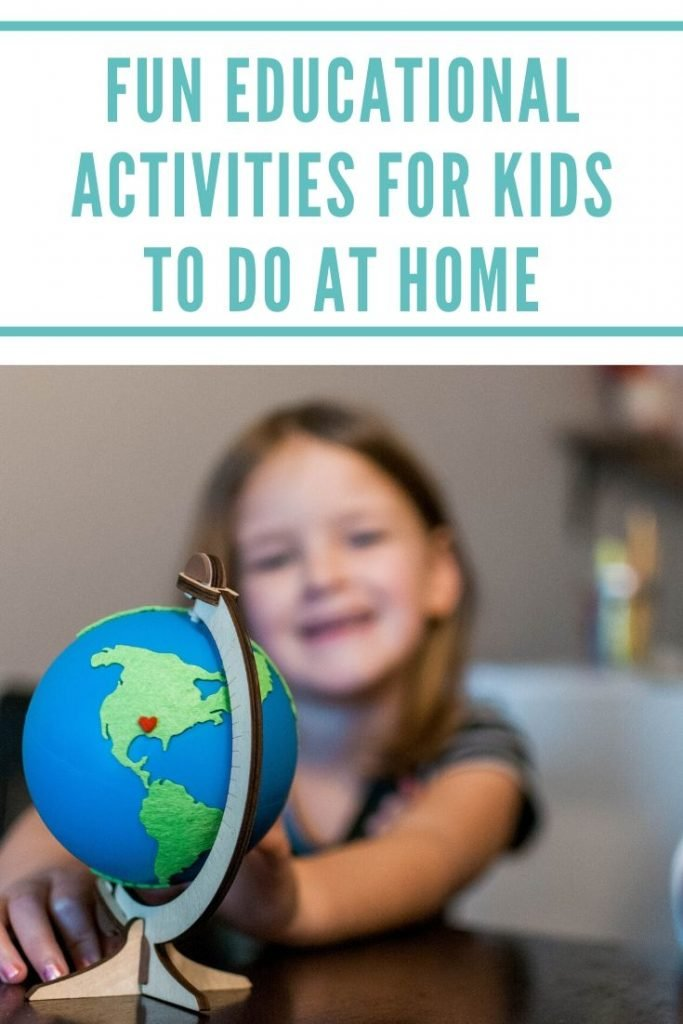 fun and educational activities for kids to do at home
